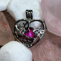 Butterfly Heart Pearl Cage and 18