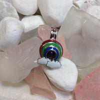 Colorful Rainbow - Sterling Silver #008