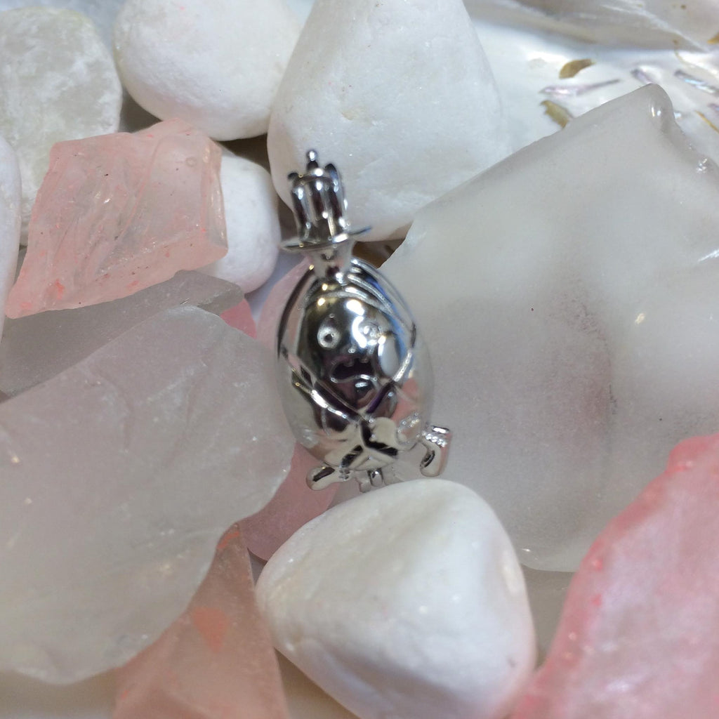 Humpty Dumpty Cage - Sterling Silver #031