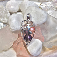 Ballerina Pearl Cage - Sterling Silver #086