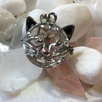 Kitty Cat Cage LARGE PEARLS ONLY - #422