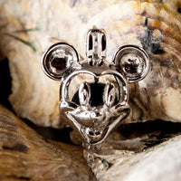 Mr. Mouse Pearl Cage in Sterling Silver #025