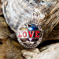 Love Cupid Pearl Cage - Sterling Silver
