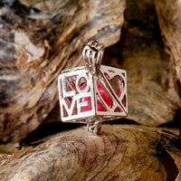 Love Box Pearl Cage - Sterling Silver #009