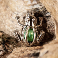 Frog Pearl Cage - Sterling Silver #035