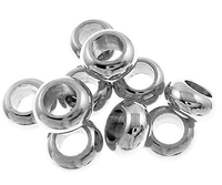 Charm Bracelet Spacers - Stainless Steel #057