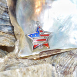 Star of America Pearl Cage - Sterling Silver #155