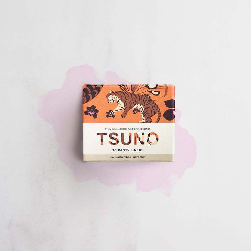 Tsuno Panty Liners Made Using Natural Bamboo