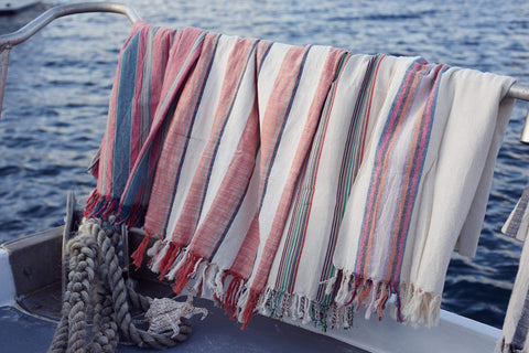 Raven's Landing - Authentic Turkish Towel - The Slow Fashion Towel