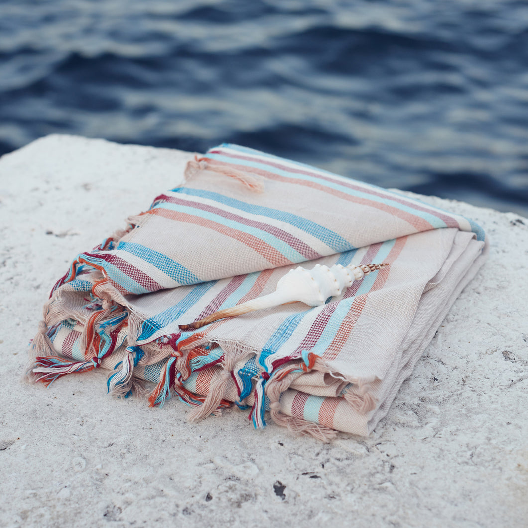 pastel pestemal turkish towel