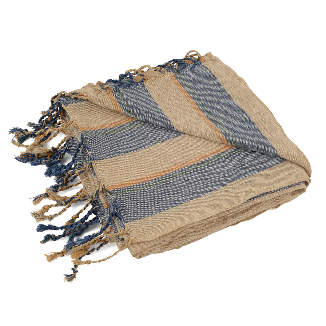 Sea Bluez Linen Peştemal Towel