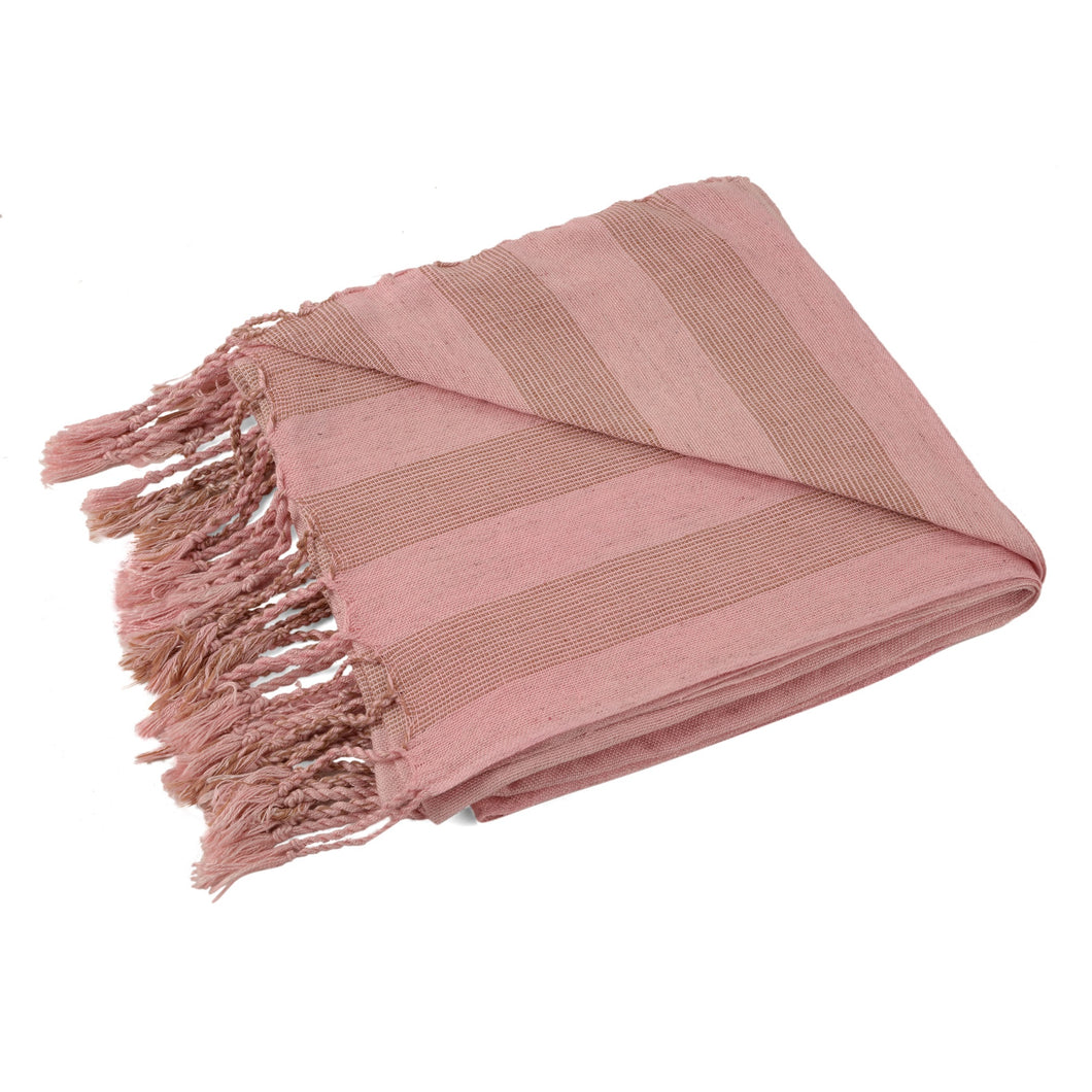 turkish pembe pestemal towel