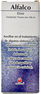 ALFALCO ELIXIR 120 ML MEDICOR