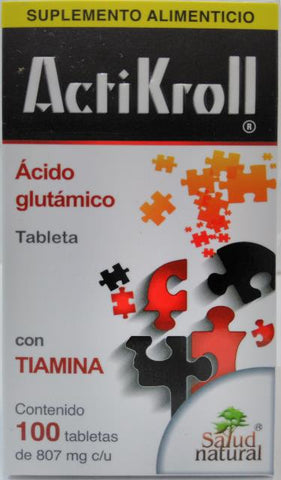 ACTIKROLL 800MG 100 TAB SALUD NATURAL