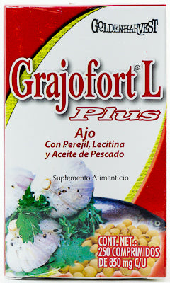 AJO GRAJOFORT L PLUS 250 COMPRIMIDOS GOLDEN