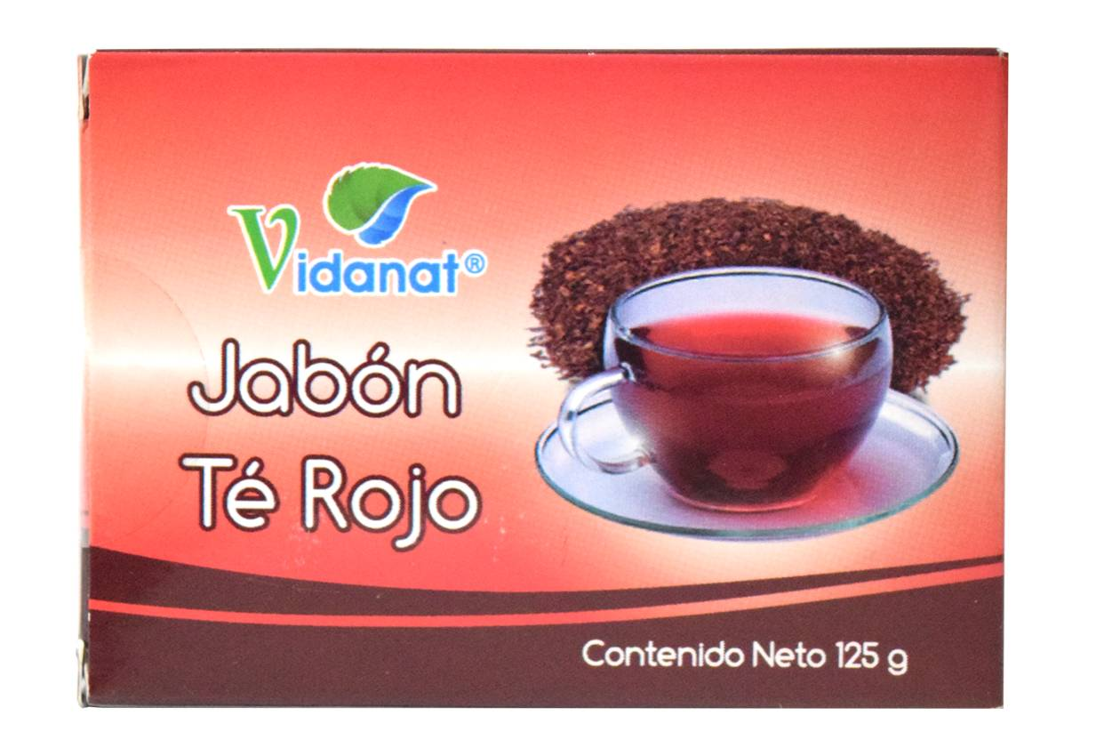 SOAP TEA RED 125 G VIDANAT
