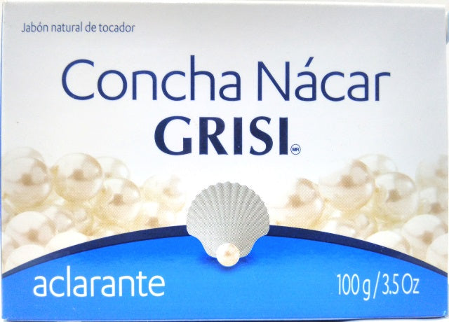 SOAP CONCH PEARL 100 G GRISI