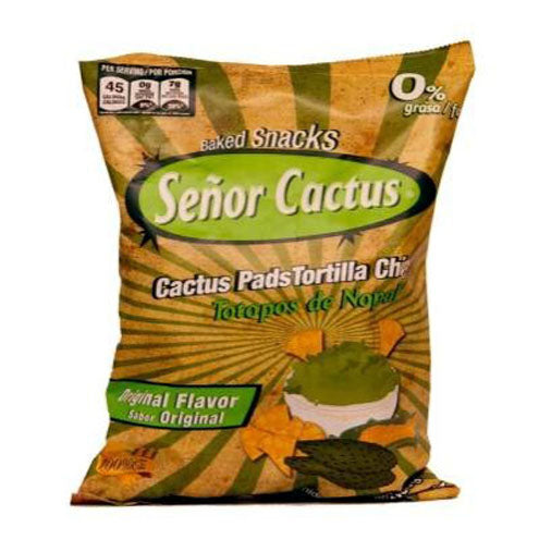 Totopo OF CACTUS WITH SESAME 300G SEÃ'OR CACTUS
