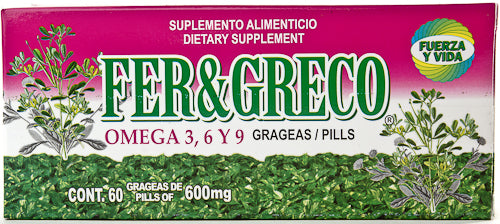 FENOGRECO 60 PILLS AND LIFE FORCE