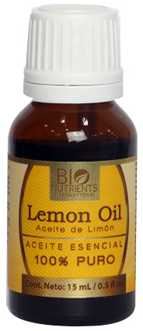 LEMON ESSENTIAL OIL 15 ML BIO NUTRIENTS
