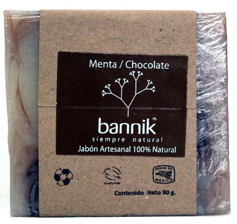 SOAP HANDMADE MINT CHOCOLATE 90 G Bannik