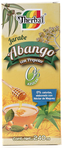 JARABE ABANGO PROPOLEO 0 AZUCAR 240 ML THERBAL