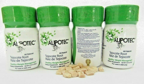 ALIPOTEC ROOT of Tejocote. For Four months. Free shipping 4 Bottles