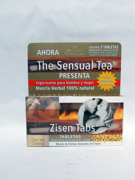 THE SENSUAL TEA 2 TABLETAS