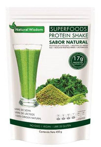 SUPER FOOD PROTEIN SHAKE 450 G  NATURAL WISDOM