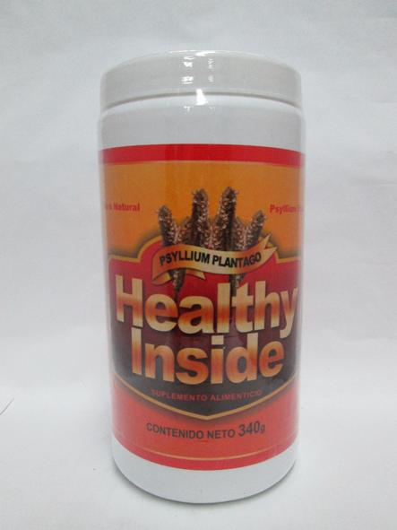 PLANTAGO PSYLLIUM NATURAL 340 G HEALTHY INSIDE
