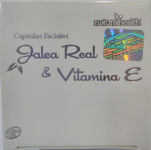 JALEA REAL Y VIT E CAP FACIAL 60 CAP NATURAL HEALTH