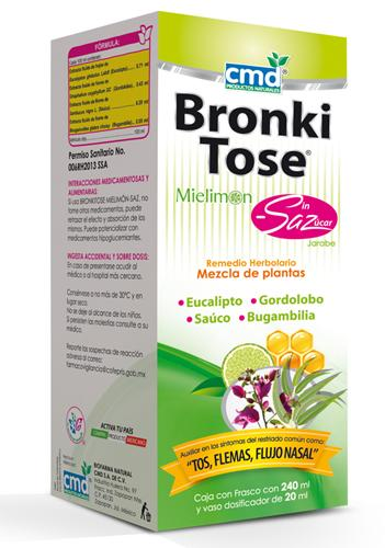 BRONKITOSE SIN AZUCAR  240 ML  CMD