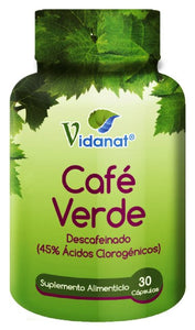 GREEN COFFEE 30 CAP VIDANAT