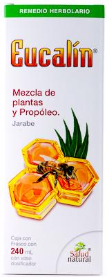 JARABE EUCALIN MIEL 240ML SALUD NATURAL