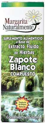ZAPOTE BLANCO COMP EXTRACTO 50ML  MARGARITA NATURALMENTE