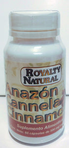 CANELA 60 CAP 500 MG ANAZON
