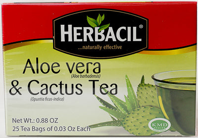 TEA SABILA ENVELOPE AND CACTUS 25 Herbacil