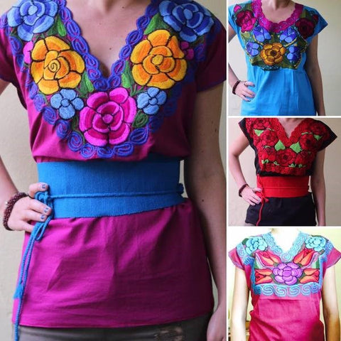Blouse made by Artisans of Chiapas