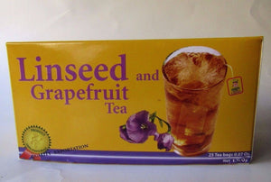Flaxseed tea with grapefruit. Linseed Grapefruit. 25 Bags