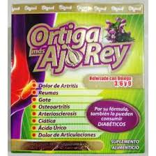 Ortiga Mas Ajo Rey Adios a los Dolores de Rodillas goodbye to Knee Pain
