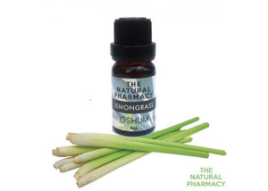 LEMON GRASS - Essential oil grade therapeutic 9ml.