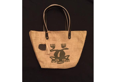 MONTE ALBAN bag of raw blanket / frog print