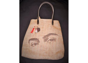 FRENCH bag Frida with tricolor rebozo