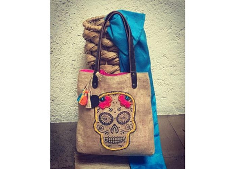 Palenque bag model CATRINA