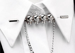 SKULL Neck Brooch Lapel Pin