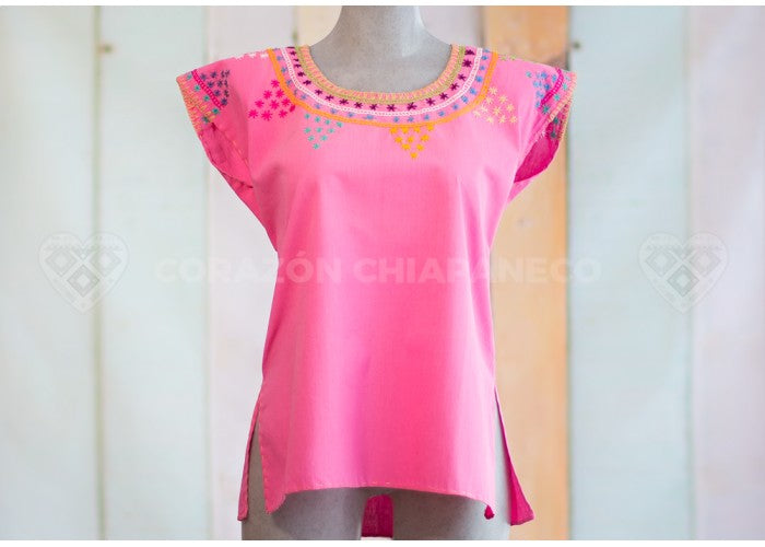 BLOUSE PINK BLANKET IN TUNE