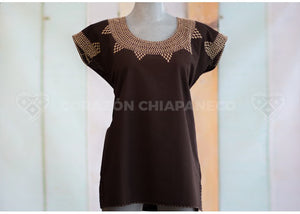 MANTA BLOUSE IN TUNE COFFEE