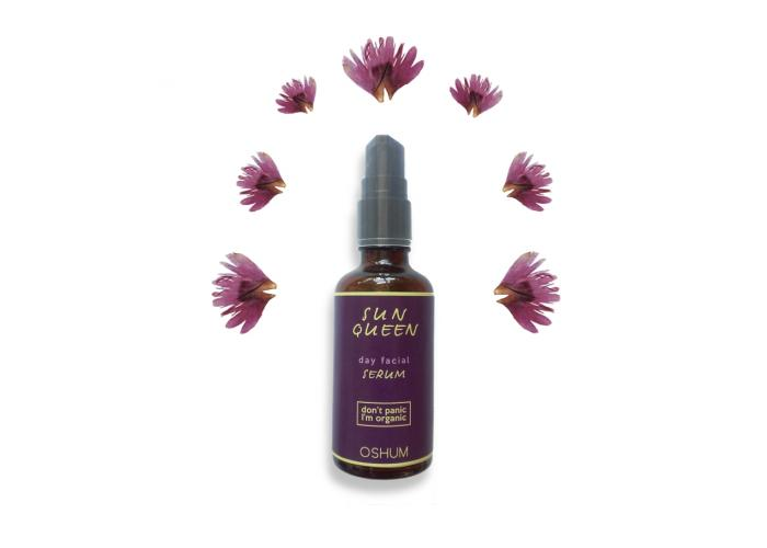 Organic Facial Serum Day - SUN QUEEN