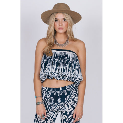 TROPIC BLUES CROP