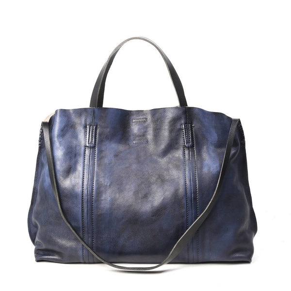 Forest Island Leather Tote